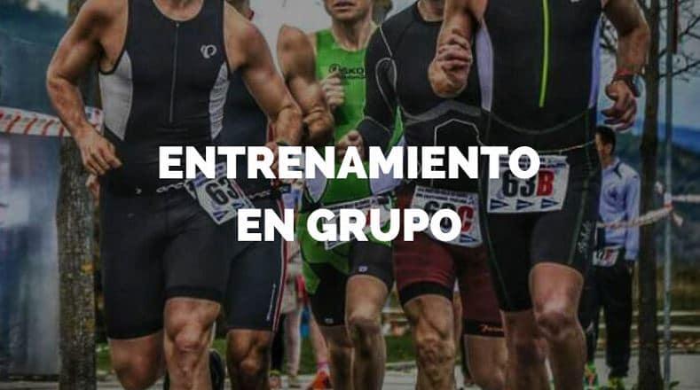 Entrenamientos en grupo de triatlon, running online