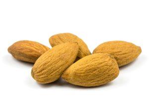 Almendras frutos secos energía natural