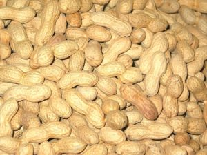 Cacahuetes frutos secos energía natural